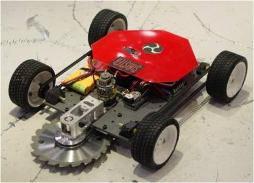 پروژه بررسی و ساخت ربات جنگجو
